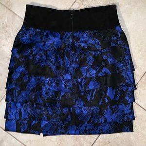 Robert Rodriguez Tiered Skirt